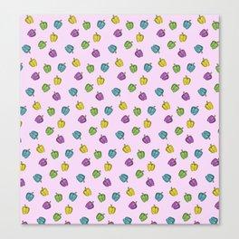 Autochrome Watercolour Pepper Pattern  Canvas Print