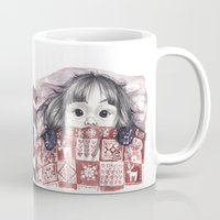 xmas Mugs featuring Xmas. by nubedecartón