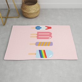 Popsicle - Four Pack Pink #267 Rug