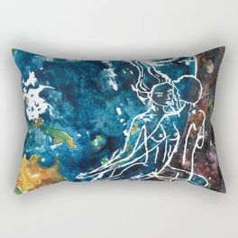 Mother Earth and Father Sky Make Love Rectangular Pillow