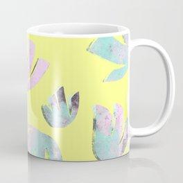 flora pattern no.1 / bright yellow Coffee Mug