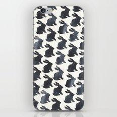 Rabbit Chalkboard Pattern by Robayre iPhone & iPod Skin