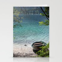 boat Stationery Cards featuring Boat by L'Ale shop