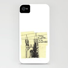 today is going to be wonderful Slim Case iPhone (4, 4s)