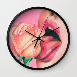 lust for love Wall Clock