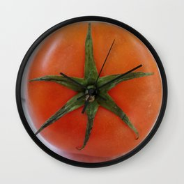 HELLO TOMATO Wall Clock