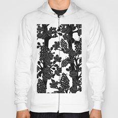 Romantic black trees Hoody