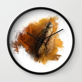 Expressions Red Tailed Hawk Wall Clock