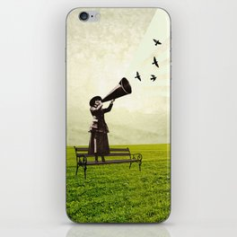 singing birds iPhone Skin