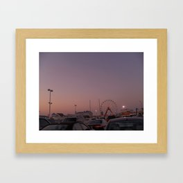 Some summers ago Framed Art Print