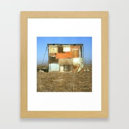 Double Exposure with Rauschenberg in Mind, 2007 Framed Art Print