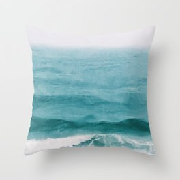 August Breakers Throw Pillow