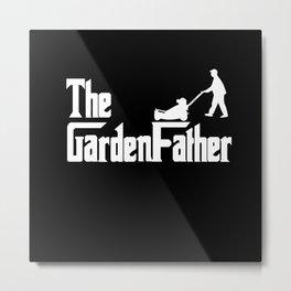 The Garden Papa Gardening Papa Plants Metal Print