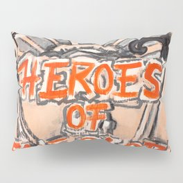 Heroes of the Globe Pillow Sham
