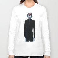surrealism Long Sleeve T-shirts featuring Optimistic Surrealism by PandaGunda