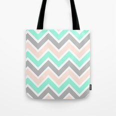MUTED CHEVRON Tote Bag
