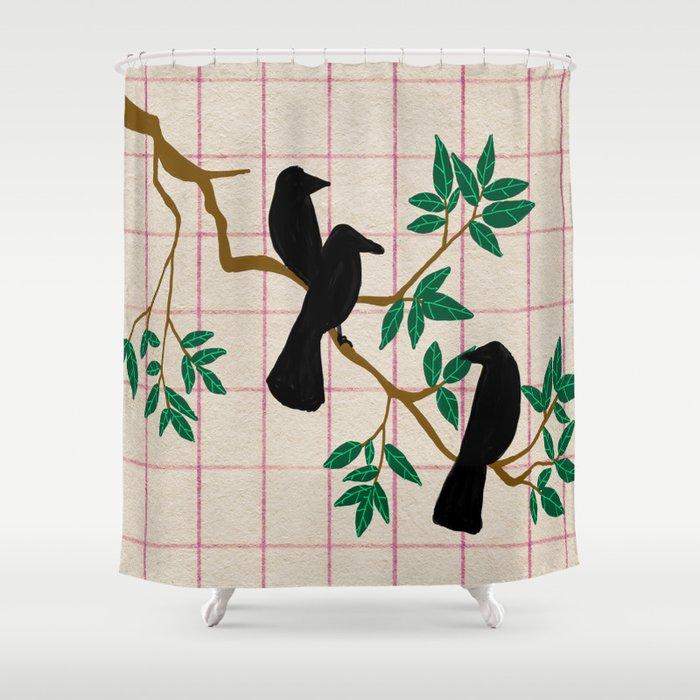 A Murder Shower Curtain By Alfiealfie
