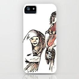 Los Caprichos ~ 78 ~ Be Quick iPhone Case