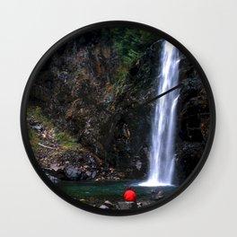 Franklin Falls 2 Wall Clock