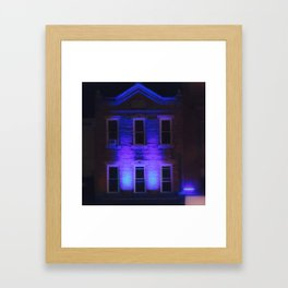 Feeling Blue Framed Art Print