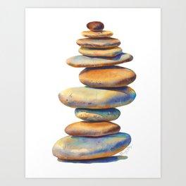 The Stone Mind Art Print