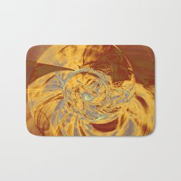 Ammonite Abstract Bath Mat