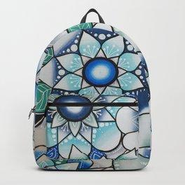Mandala blue Backpack