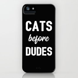 The Cat Lover III iPhone Case