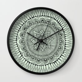 Mandala 3 Wall Clock