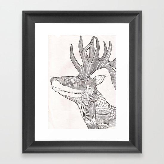 The Forest Spirit Framed Art Print