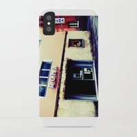 cinema iPhone & iPod Cases featuring Cinema Roma by Red Bicycle - Amber Elen-Forbat
