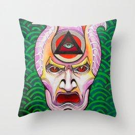 +K26 Kabuki Oni Throw Pillow