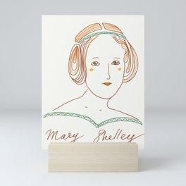 MaryShelley Mini Art Print