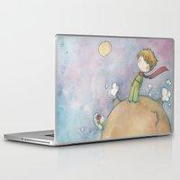 le petit prince Laptop & iPad Skins featuring Le Petit Prince by malipi