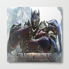Budget Gift Transformers 4 Metal Print