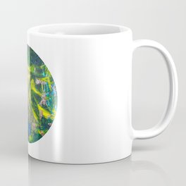Flowers Of The Deep Mermaid - Circle Coffee Mug