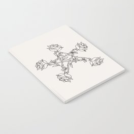 Rose Pentacle Notebook