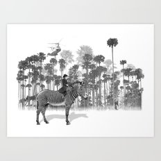 Thrill of the Chase Art Print