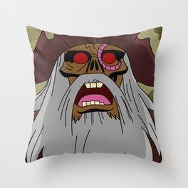 Moonscar Throw Pillow