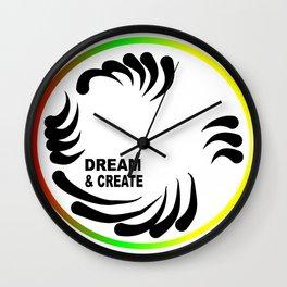 Dream & Create Wall Clock