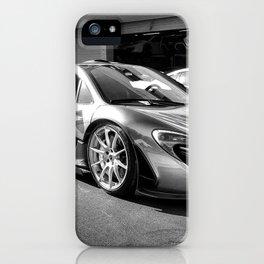 McLaren P1's Service Shop iPhone Case