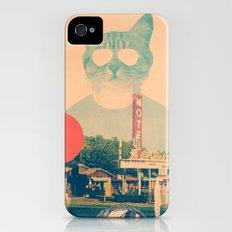 Cool Cat Slim Case iPhone (4, 4s)