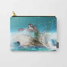 Funny crab Carry-All Pouch
