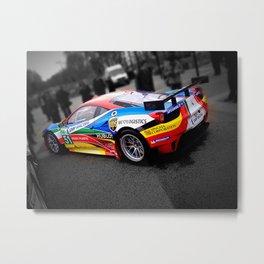 Ferrari 458 GT Splash  Metal Print