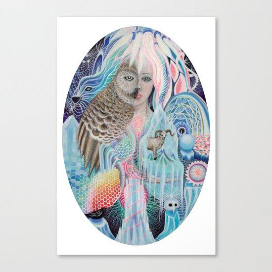blind spot Canvas Print