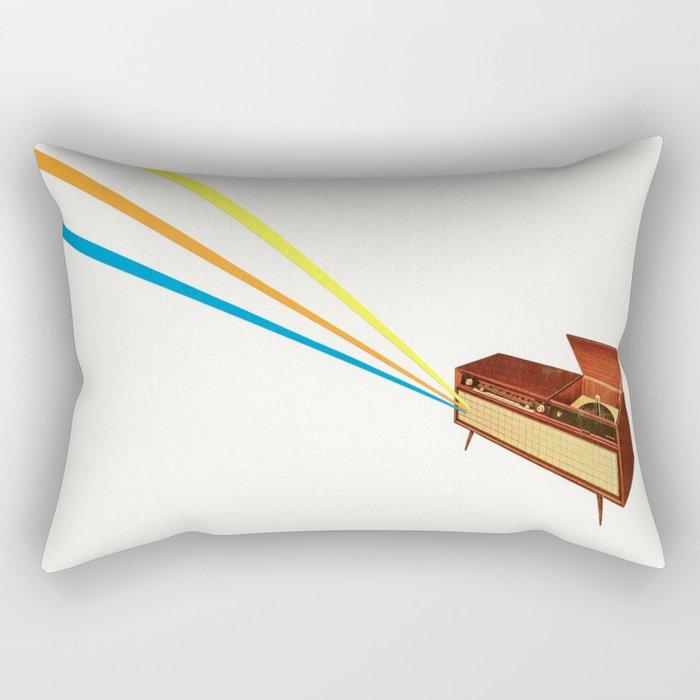Broadcast Rectangular Pillow