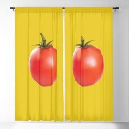 Tomato Blackout Curtain