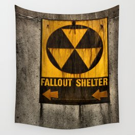 Fallout Shelter Wall Tapestry