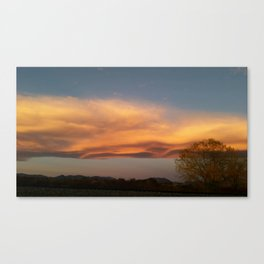 Sculpted Sky Canvas Print
