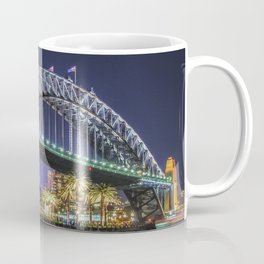Sydney Harbor Bridge at Night Coffee Mug